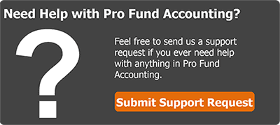Need help with Pro Fund Accounting?